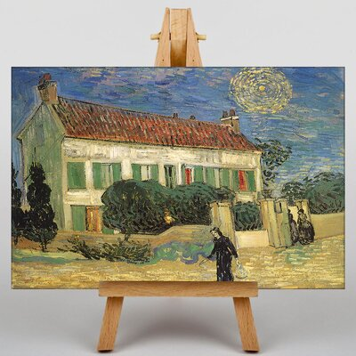 Big Box Art House by Vincent Van Gogh Art Print on Canvas