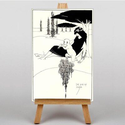 Big Box Art The Kiss of Judas by Aubrey Beardsley Art Print on Canvas