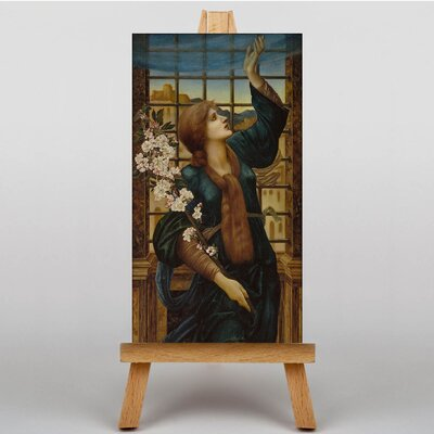 Big Box Art Hope by Edward Burne-Jones Art Print on Canvas
