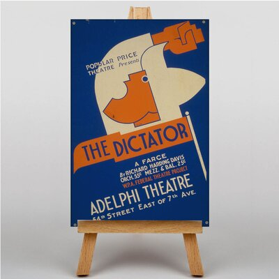 Big Box Art The Dictator Vintage Advertisement on Canvas
