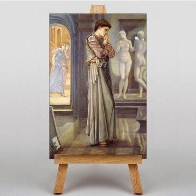 Big Box Art The Image by Edward Burne-Jones Art Print on Canvas