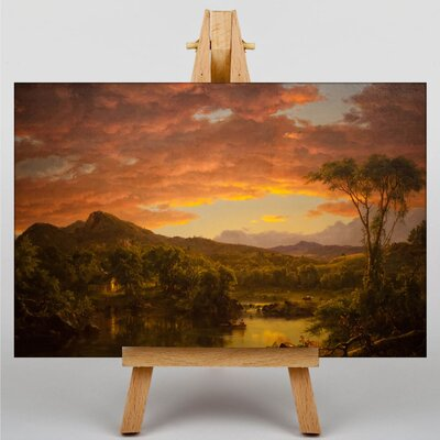 Big Box Art Church A Country Home by Frederic Edwin Art Print on Canvas