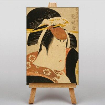 Big Box Art Nakayama Tomisaburo Japanese Oriental Graphic Art on Canvas