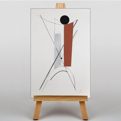 Big Box Art Abstract No.4 by El Lissitzky Art Print on Canvas
