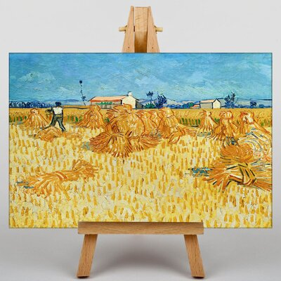 Big Box Art Landscape No.3 by Vincent Van Gogh Art Print on Canvas