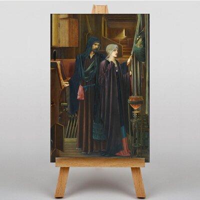 Big Box Art The Wizard by Edward Burne-Jones Art Print on Canvas