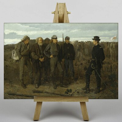 Big Box Art Prisoners from the Front by Winslow Homer Art Print on Canvas