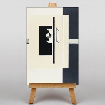 Big Box Art Garde by El Lissitzky Graphic Art on Canvas