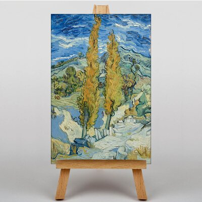 Big Box Art Landscape by Vincent Van Gogh Art Print on Canvas