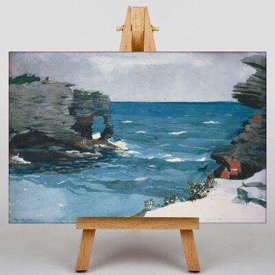 Big Box Art Rocky Shore Bermuda by Winslow Homer Art Print on Canvas