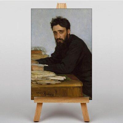 Big Box Art Mikhailovich Garshin by Ilya Repin Barge Art Print on Canvas