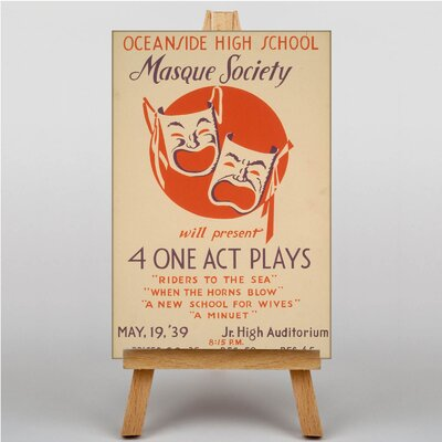 Big Box Art Masque Society Vintage Advertisement on Canvas