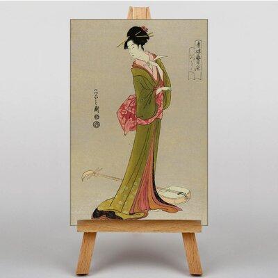 Big Box Art Itsutomi Japanese Oriental Graphic Art on Canvas