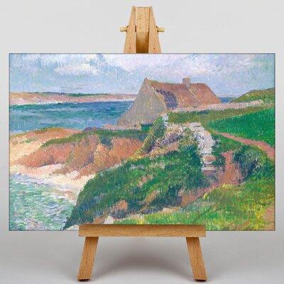 Big Box Art Island of Raguenez Brittany by Henry Moret Art Print on Canvas