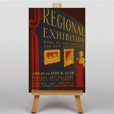 Big Box Art Exhibition No.30 Vintage Advertisement on Canvas