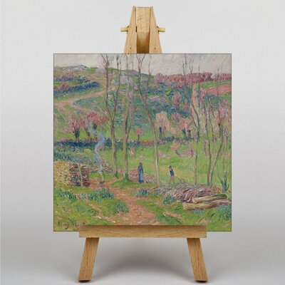 Big Box Art Landscape by Henry Moret Art Print on Canvas