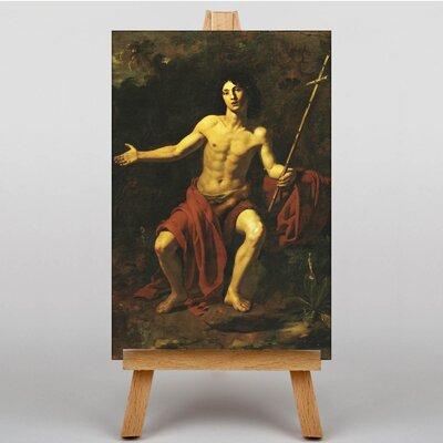Big Box Art San Giovanni Battista by Giovanni Battista Tiepolo Art Print on Canvas