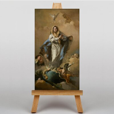 Big Box Art Tiepolo Immaculate Conception by Giovanni Battista Art Print on Canvas