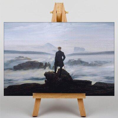 Big Box Art The Wanderer above the Sea of Fog by Friedrich Caspar David Art Print on Canvas