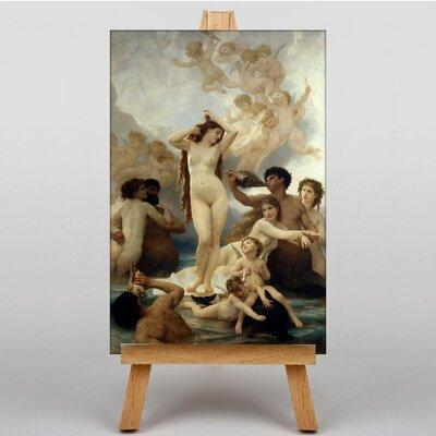 Big Box Art The Birth of Venus by William Adolphe Bouguereau Art Print on Canvas