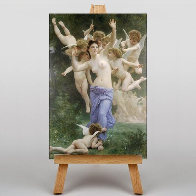 Big Box Art The Invitation by William Adolphe Bouguereau Art Print on Canvas