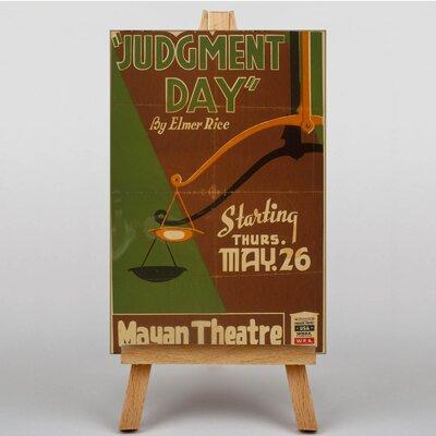Big Box Art Judgement Day Vintage Advertisement on Canvas