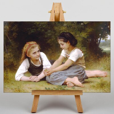Big Box Art The Nut Gatherers by William Adolphe Bouguereau Art Print on Canvas