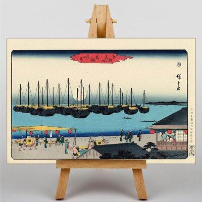 Big Box Art Four Seasons by Utagawa Hiroshige Art Print on Canvas