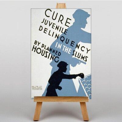 Big Box Art Juvenile Deliquency Vintage Advertisement on Canvas