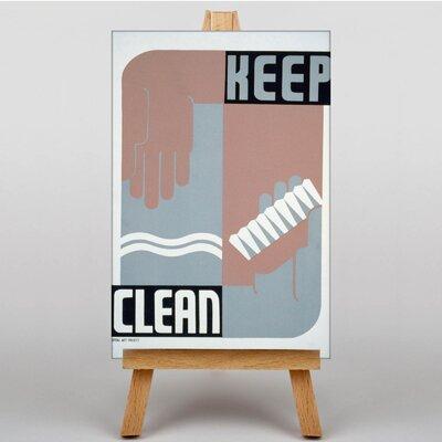Big Box Art Keep Clean Vintage Advertisement on Canvas