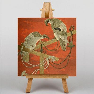 Big Box Art Fukusa Birds Japanese Oriental Art Print on Canvas