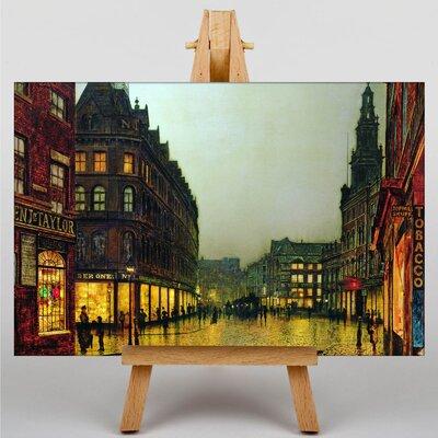 Big Box Art Boar Lane, Leeds by John Atkinson Grimshaw Art Print on Canvas