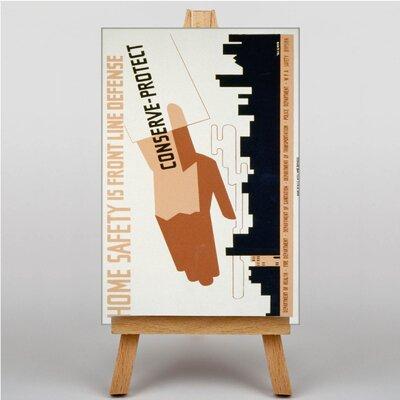 Big Box Art Conserve Protect Vintage Advertisement on Canvas