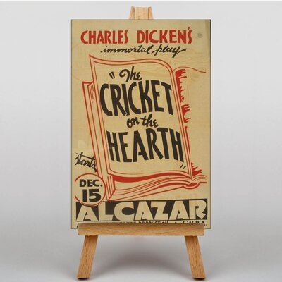 Big Box Art Cricket on the Hearth Typography on Canvas