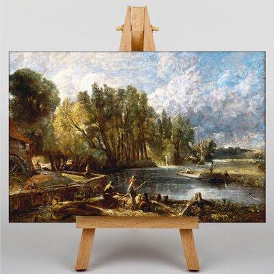 Big Box Art Stratford Mill by John Constable Art Print on Canvas