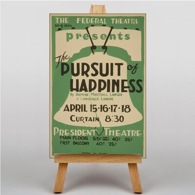 Big Box Art Pursuit of Happiness Vintage Advertisement on Canvas