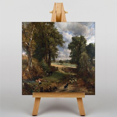 Big Box Art The Cornfield by John Constable Art Print on Canvas