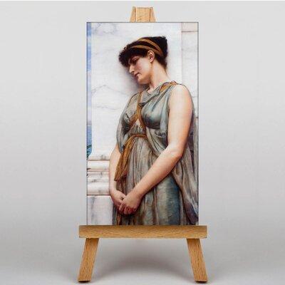 Big Box Art Godward Pompeian Girl by John William Art Print on Canvas