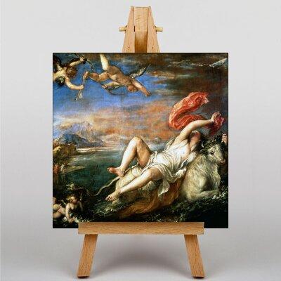 Big Box Art Princess Europa by Titian Art Print on Canvas