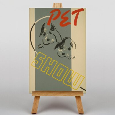 Big Box Art Pet Show Vintage Advertisement on Canvas