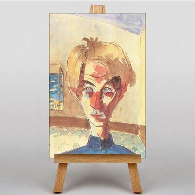 Big Box Art Self Portrait by Walter Gramatte Art Print on Canvas