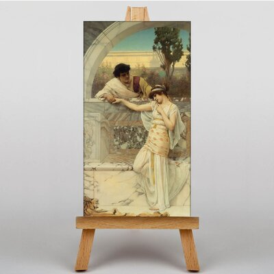 Big Box Art Godward Yes or No by John William Art Print on Canvas