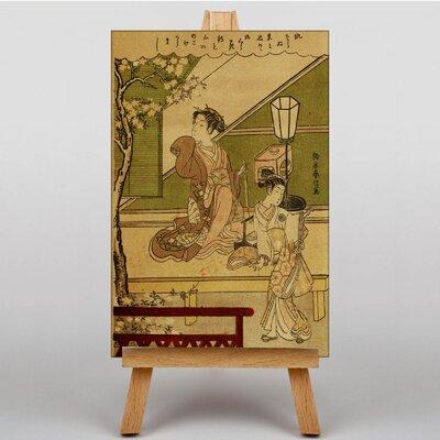 Big Box Art Two women of the Yoshiwara Japanese Oriental Art Print on Canvas