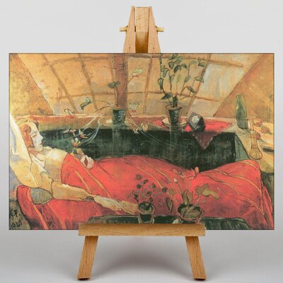 Big Box Art Sonia Gramatte by Walter Gramatte Art Print on Canvas