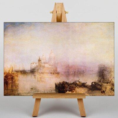 Big Box Art St pauls Cathedral by Joseph Mallord William Turner Art Print on Canvas