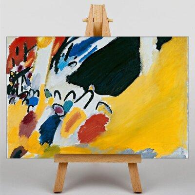 Big Box Art Composition by Wassily Kandinski Art Print on Canvas