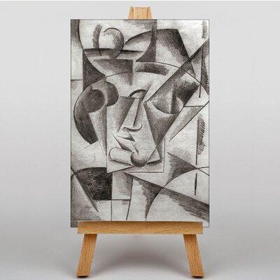 Big Box Art Heads by Lyubov Popova Art Print on Canvas