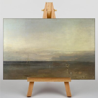 Big Box Art The Burning of the House of Lords Landscape No.2 by Joseph Mallord William Turner Art Print on Canvas