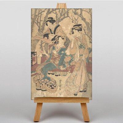Big Box Art Japanese Oriental No.5 by Utagawa Hiroshige Art Print on Canvas