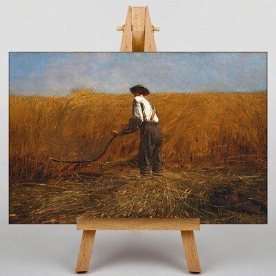 Big Box Art The Veteran in a New Field by Winslow Homer Art Print on Canvas